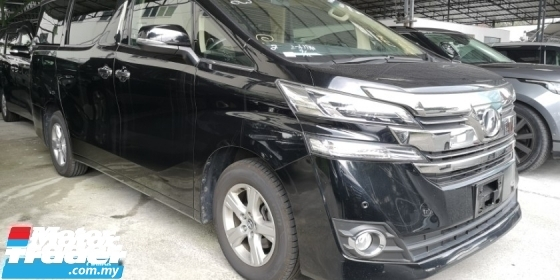 2017 TOYOTA VELLFIRE 2.5 X / 8 SEATER / 2 PWR DOOR / 4 YEARS WARRANTY UNLIMITED KM / READY STOCK FOR OFFER