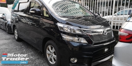 2014 TOYOTA VELLFIRE X 2.4CC / 8 SEATER / 2 PWR DOOR / TIPTOP CONDITION FROM JAPAN / READY STOCK FOR OFFER