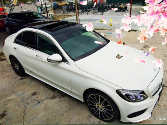 2015 MERCEDES-BENZ C-CLASS C250 AMG 2.0TURBO RECON on thr road price RM239,888.88 fee 1year warranty