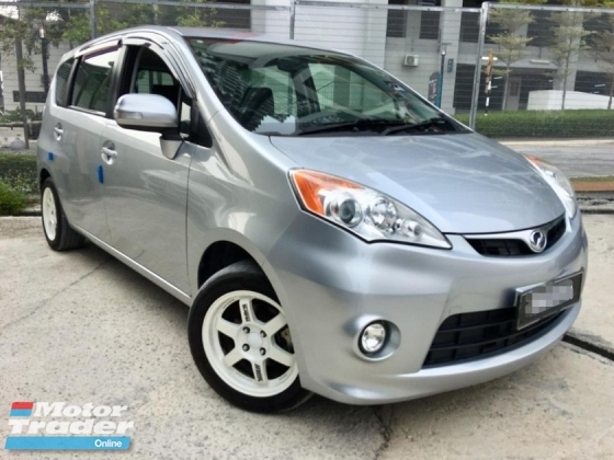 2013 PERODUA ALZA 1.5 EZI AT PREMIUN MPV (TRUE YEAR MAKE)(ONE OWNER)(2 YEAR WARRANTY)(LOW MILEAGE)
