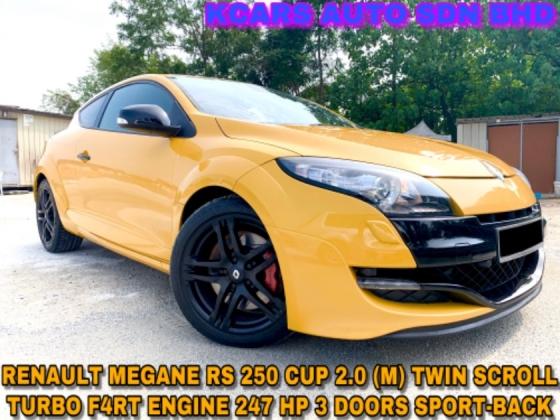 2012 RENAULT MEGANE RS250 CUP RECARO SEAT FREE WARRANTY