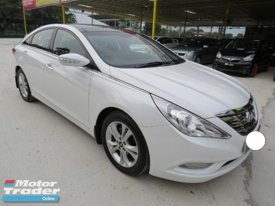 2014 HYUNDAI SONATA 2.0 (A) One Owner Original Full Spec Push Start Paddle Shift Leather Seat Sunroof Accident Free High Loan Tip Top Condition Must View