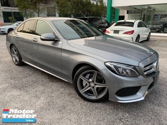 2016 MERCEDES-BENZ C-CLASS BUY&WIN C180 AMG FREE 5 YEARS WARRANTY JAPAN UNREG