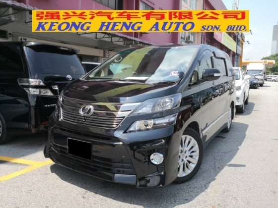 2009 TOYOTA VELLFIRE 3.5 VL GOLDEN EYE NEW FACELIFT TRUE YEAR MADE 2009 Home Theater Sunroof High Spec 2012
