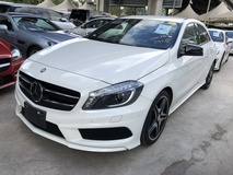2013 MERCEDES-BENZ A-CLASS A180 AMG Sport 7G Distronic MSeat