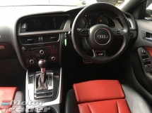 2013 AUDI S5 3.0 V6 Turbocharged 333hp Sport Back MMi Sun Roof Power Bucket Seat Daytime Bi Xenon Light Multi Function Paddle Shift Steering Zone Climate Control Bluetooth Connectivity Unreg