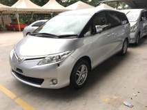 2013 TOYOTA ESTIMA 2.4 VVTi 7SCVT 2 Power Door Front Reverse Camera Dual Zone Climate 9 Air Bags
