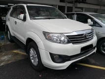 2012 TOYOTA FORTUNER 2.7 V TRD Sportivo New Facelift TRUE YEAR MADE 2012 NO SST with Elec Seat and Camera