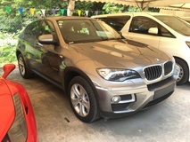 2013 BMW X6 xDrive 30d 3.0 Turbocharged 8Speed Transmission New Facelift Automatic Power Boot Bucket Seats Multi Function Paddle Shift Steering Bluetooth Connectivity Xenon Light 1 Year Warranty Unreg