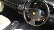 2011 FERRARI 458 CERAMIC 2MEMORY SEAT UNREG