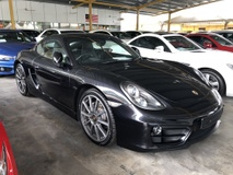 2014 PORSCHE CAYMAN 2.7 PDK 272hp Sport Mode Paddle Shift Steering PCM Bi Xenon Light Automatic Rear Spoiler Dual Zone Climate Control Bluetooth Connectivity 1 Year Warranty Unreg