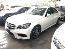 2013 MERCEDES-BENZ E-CLASS E250 2.0 AMG Sport Edition New Facelift Distronic Plus 2 Memory Seat Push Start Button Intelligent LED Light Paddle Shift Steering Bluetooth Connectivity Unreg