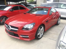 2014 MERCEDES-BENZ SLK SLK200 AMG Sport 7G Panoramic Roof