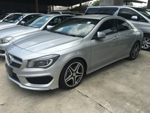 2014 MERCEDES-BENZ CLA 250 CGi AMG Sport 2.0 Turbocharged 211hp  7GDual Clutch Transmission BiXenon Lights System 2 Memory Bucket Seat Auto Telescopic Multi Function Paddle Shift Steering NEON Art Interior Parktronic Reverse Camera Bluetooth Connectivity 1 Year Warranty Unreg