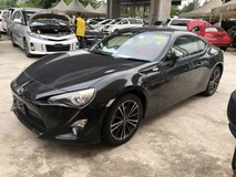 2013 TOYOTA 86 GT 86 2.0 Boxer D4S 200hp 6 Speed LSD VSC Sport Push Start Button HVAC 1 Year Warranty Unreg