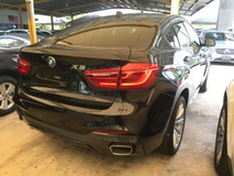2015 BMW X6 xDrive M Sport 40d 3.0 Twin Turbocharged New Facelift Pre Crash Sun Roof Adaptive LED Light PBoot