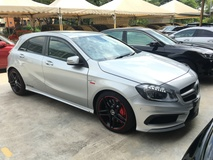 2014 MERCEDES-BENZ A-CLASS A45 2.0 AMG 4MATIC Distronic Plus Memory Seat