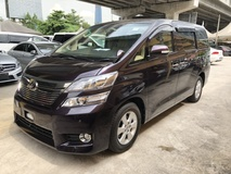 2013 TOYOTA VELLFIRE 2.4 VVTi 7SCVT New Facelift 2 Power Door Leather Seat Xenon Light Front Reverse Camera 9 Air Bags