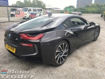 2014 BMW I8 eDrive 1.5 L3 Turbocharged Hybrid Synchronous Motor 4 Surround Camera View Head Up Display LED Headlight Multi Function Paddle Shift Steering ComfortSport Selection Zone Climate Control Butterfly Doors Unreg
