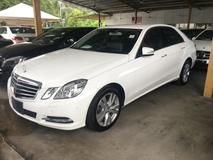 2012 MERCEDES-BENZ E-CLASS E250 CGi 7GTronic BlueEfficiency Turbocharged Keyless Go Entry Push Start Button 2 Memory Seats Reverse Camera with Park Assist Auto Telescopic Multi Function Paddle Shift Steering Bluetooth DVD Player Xenon Light Daytime LED 1 Year Warranty Unreg