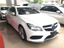 2014 MERCEDES-BENZ E-CLASS E250 2.0 CGi 7GTronic AMG Sport 4 Surround Camera Distronic Plus 2 Memory Seat Auto Telescopic Multi Function Paddle Shift Steering Push Start Button Adaptive Intelligent LED Light Auto Cruise Blind Spot Bluetooth Connectivity 1 Year Warranty