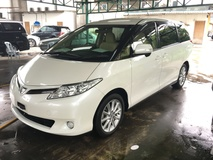 2013 TOYOTA ESTIMA 2.4 G Edition New Facelift Automatic Power Boot 7 Seat 2 Power Doors Memory Power Seats Xenon Light Keyless Smart Entry Push Start Button 7Speed 9 Air Bags DVD Front Reverse Camera Auto Climate Control Auto Cruise Control 1 Year Warranty Unreg
