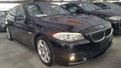 2013 BMW 5 SERIES UNREG DARKBLUE 520i 2.0L MSPORT RED LEATHER WT FREE WRTY GST