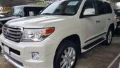 2014 TOYOTA LAND CRUISER LANDCRUISER ZX SR/MR AIRMATIC COOLBOX SIDE STEP MODELISTAKIT H/T 4CAM BROWN LEATHER MEGASPEC WITH FREE WARRANTY ( GST INCL ) UNREG *** YEAR-END CLEARANCE ***