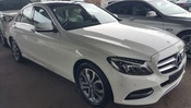 2015 MERCEDES-BENZ C-CLASS C200 SPORT EDITION SUNROOF KEYLESS CREAMLEATHER WT GST UNREG