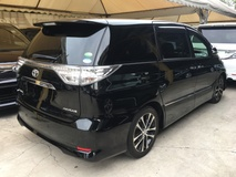 2014 TOYOTA ESTIMA 2.4 Aeras Premium Edition New Facelift Power Electrical Auto Seat SemiLeather 7 Seat 2 Power Door Full Body Kit Center Console Box Xenon Light Keyless Go Push Start Front Reverse Camera Dual Zone Climate Control Auto Cruise Control 1 Year Warranty Unreg