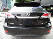 2013 LEXUS RX 270 VERSION L  (FSPORT) REAR ENTERTAINMENT