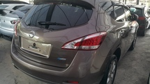 2013 NISSAN MURANO 250XL BROWN SIDEBACK CAM WT FREE GST WRTY UNREG JAPAN CNY STOCK CLEARANCE