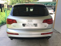 2012 AUDI Q7 3.0 TDi V6 Turbocharged 245hp SLine Quattro 8Speed New Facelift 7 Seat MMi 2 (Multi Media Interface) Automatic Power Boot 2 Power Leather Seat HiLow Adaptive Suspension Paddle Shift Steering Daytime Xenon LED Reverse Camera 1 Year Warranty Unreg