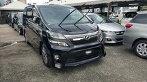 2013 TOYOTA VELLFIRE 2.4 golden eye SUNROOF
