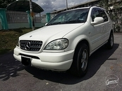 2002 MERCEDES-BENZ ML ML270 W163 DIESEL 2.7CC (A) SR CAMERA