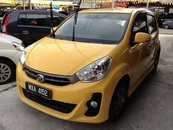 2012 PERODUA MYVI 1.5 SE (A) SPECIAL EDITION MILEAGE ONLY 21K KM