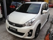 2013 PERODUA MYVI 1.5 SE (A) SPECIAL EDITION MILEAGE ONLY 24K KM