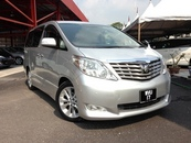2008 TOYOTA ALPHARD 350 home theater