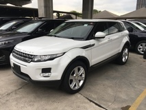 2014 LAND ROVER EVOQUE 2.0 Si4 Turbocharged 9 Speed Transmission Panoramic Roof 5 Surround Camera Park Assist Terrain Response System Multi Function Paddle Shift Steering Bucket Seat Meridian Surround LED 1 Year Warranty Unreg