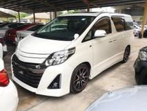2013 TOYOTA ALPHARD 2.4 GS Sport Edition SRoof 7 Seat 2PD Unreg
