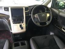 2013 TOYOTA VELLFIRE 2.4 Golden Eye  Edition Automatic Power Boot 2 Power Door 7 Half Leather Seat