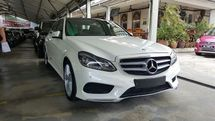 2014 MERCEDES-BENZ E-CLASS E250 2.0 AMG FULL SPEC UK DEMO UNIT