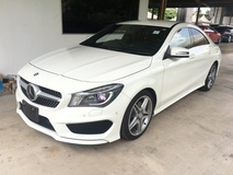 2013 MERCEDES-BENZ CLA 250 CGi AMG Sport 2.0 Turbocharged 211hp  7GDual Clutch Transmission Harman Kardon Surround Sound Xenon Light Memory Bucket Seat Multi Function Paddle Shift Steering Reverse Camera Bluetooth Connectivity 1 Year Warranty Unreg