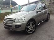 2006 MERCEDES-BENZ ML w164 ml350 3.5 v6 amg spec 20  s/rims side step