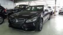 2014 MERCEDES-BENZ E-CLASS E250 AMG 2.0 Full Spec UNREG 14