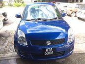 2010 SUZUKI SWIFT 1.5 auto keyless