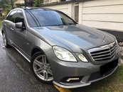 2010 MERCEDES-BENZ E-CLASS E250 CGI BLUE EFFICIENCY