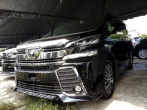 2015 TOYOTA VELLFIRE VELLFIRE ZG 2.5 NEW MODEL FULL SPEC