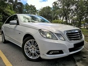 2010 MERCEDES-BENZ E-CLASS E200 1.8 CGI LOCAL FULL SPEC 2010/2011
