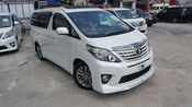 2012 TOYOTA ALPHARD 240S PRIME SELECTION II TYPE GOLD II